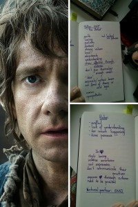 Bilbo -- -Letters to Your Heart, Axes to Your Scabbard- on FanFiction.net -- The Hobbit FanFiction
